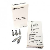 Resistances Kanger (Mega, Mini, AeroTank, T3D, Evod 2, Mini Protank 3...)