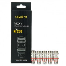 Résistances Triton Ni200 / 0.15 ohms Aspire