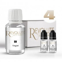 Pack DIY 4mg 100%VG Revolute